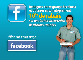 Promotion - piscine Servex -Facebook
